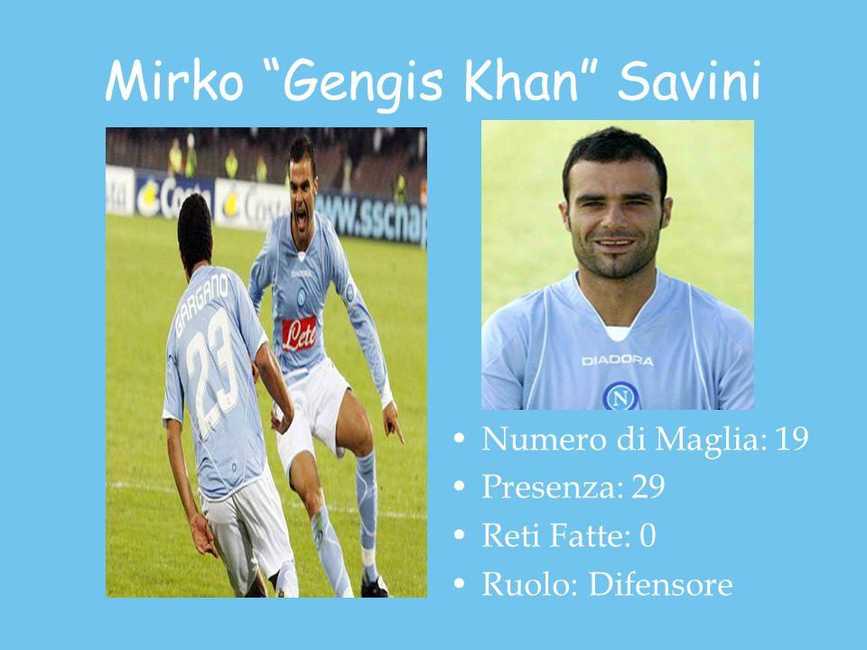 Mirko Gengis Khan Savini