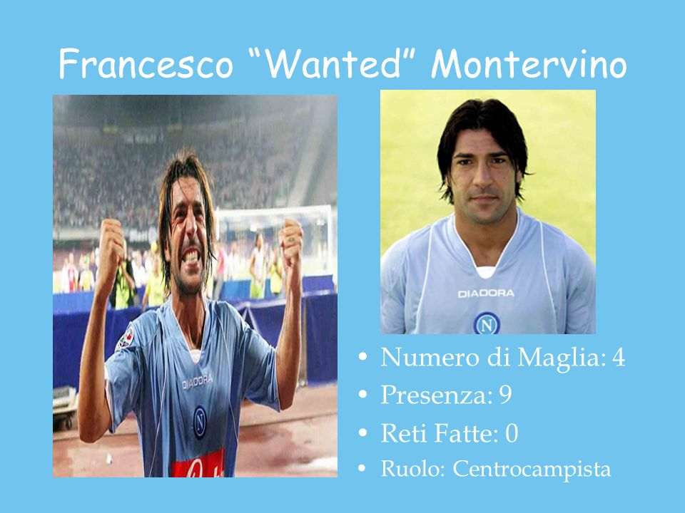 Francesco Wanted Montervino