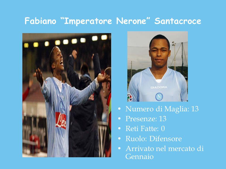 Fabiano Imperatore Nerone Santacroce