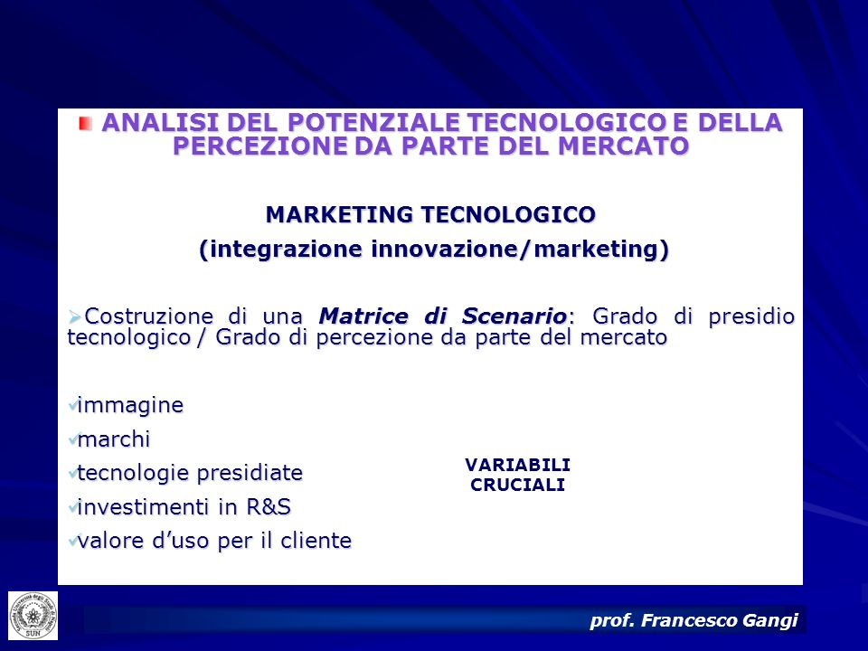 MARKETING TECNOLOGICO