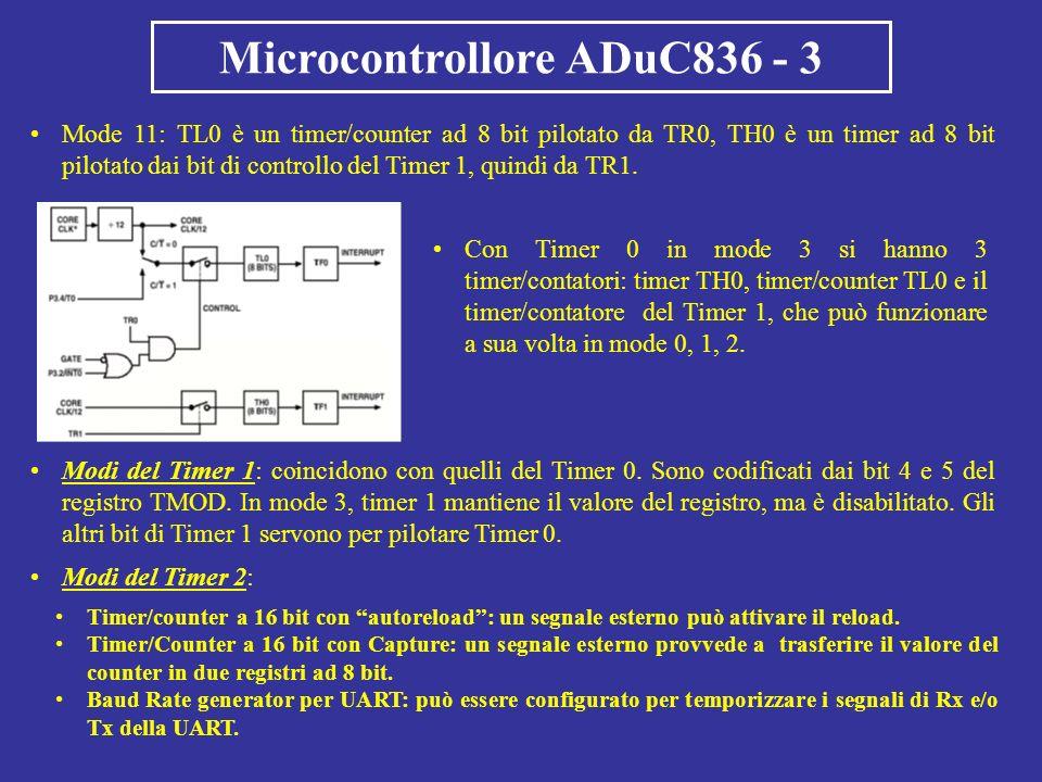 Microcontrollore ADuC836 - 3