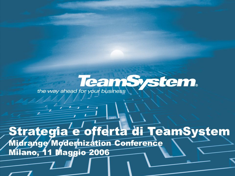 Strategia e offerta di TeamSystem