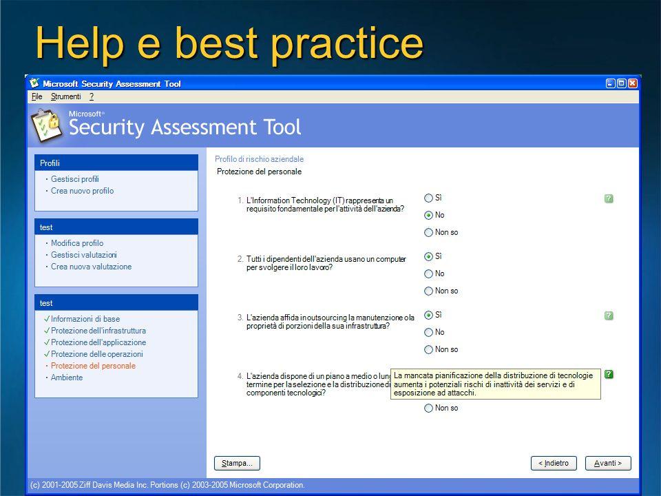 Help e best practice