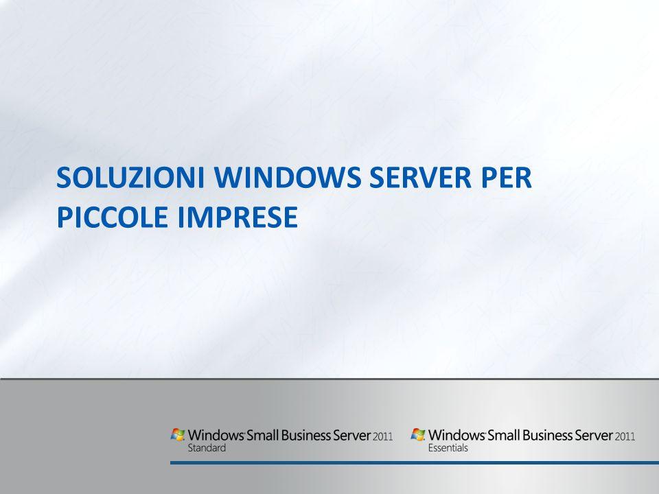 Soluzioni Windows Server per piccole imprese