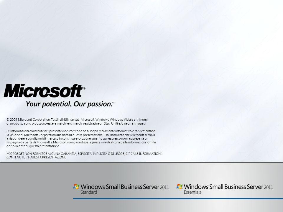 © 2009 Microsoft Corporation. Tutti i diritti riservati