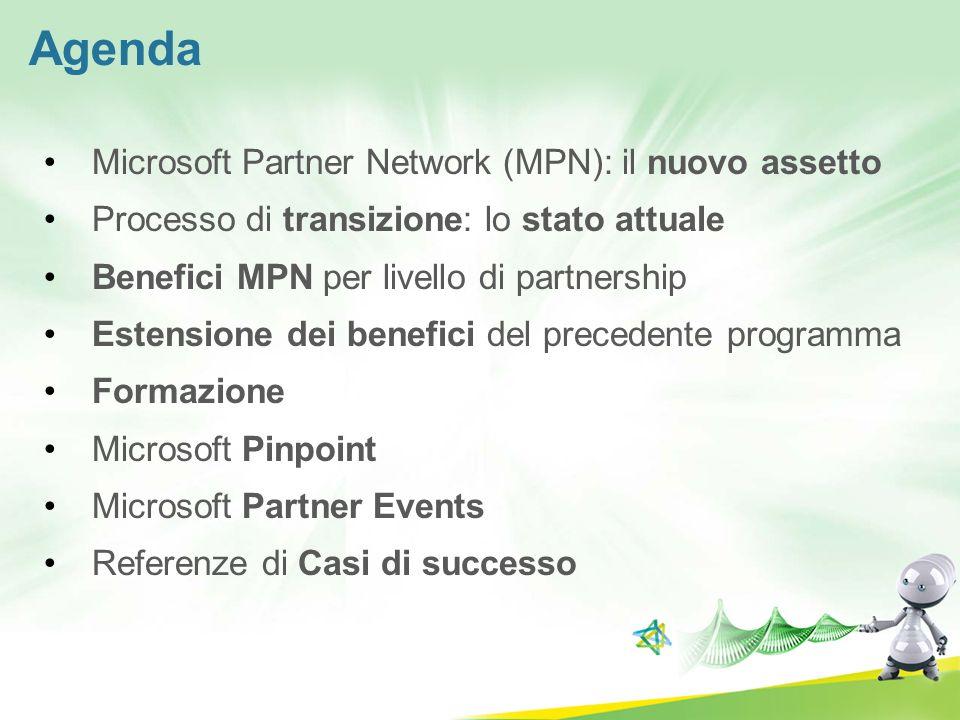 Agenda Microsoft Partner Network (MPN): il nuovo assetto