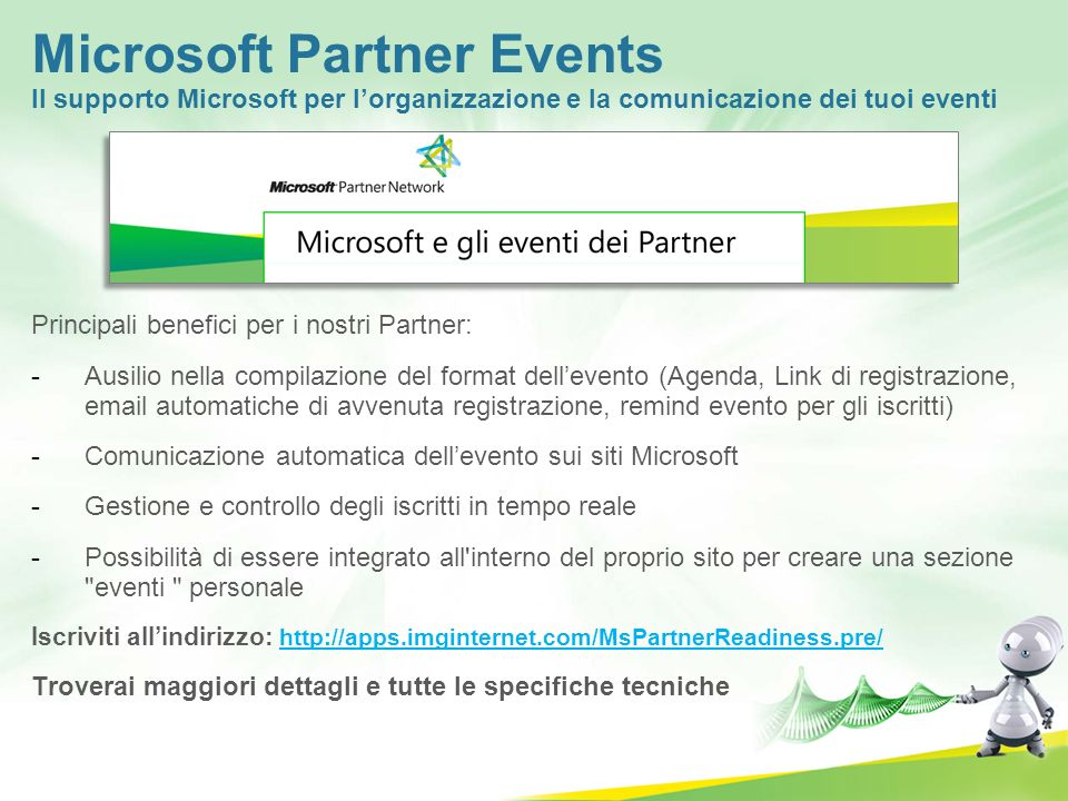 Microsoft Partner Events