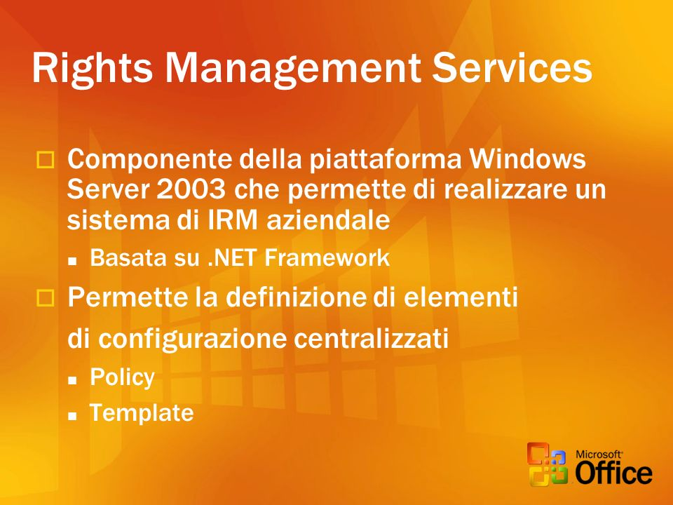 Rights Management Services