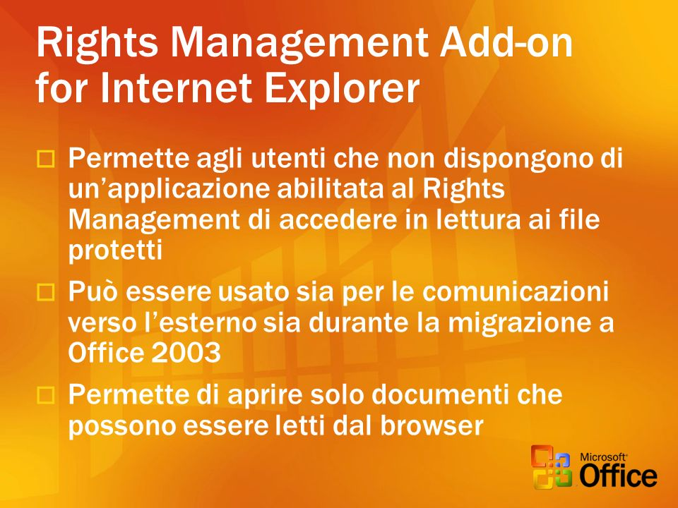 Rights Management Add-on for Internet Explorer