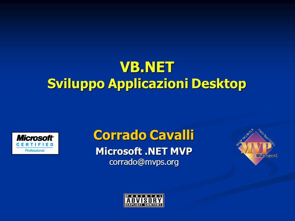 VB.NET Sviluppo Applicazioni Desktop