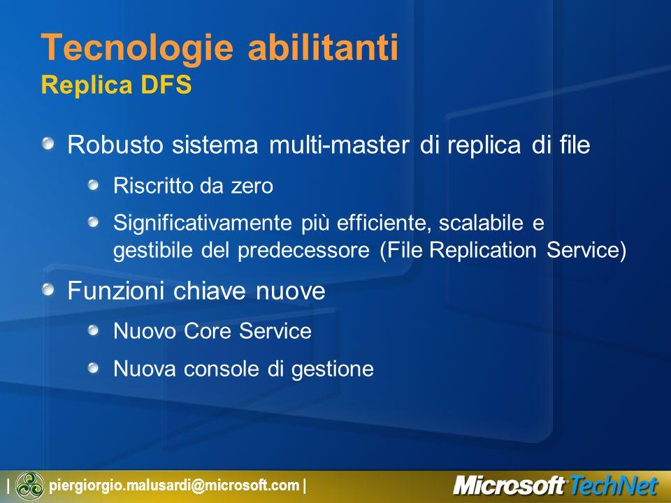 Tecnologie abilitanti Replica DFS