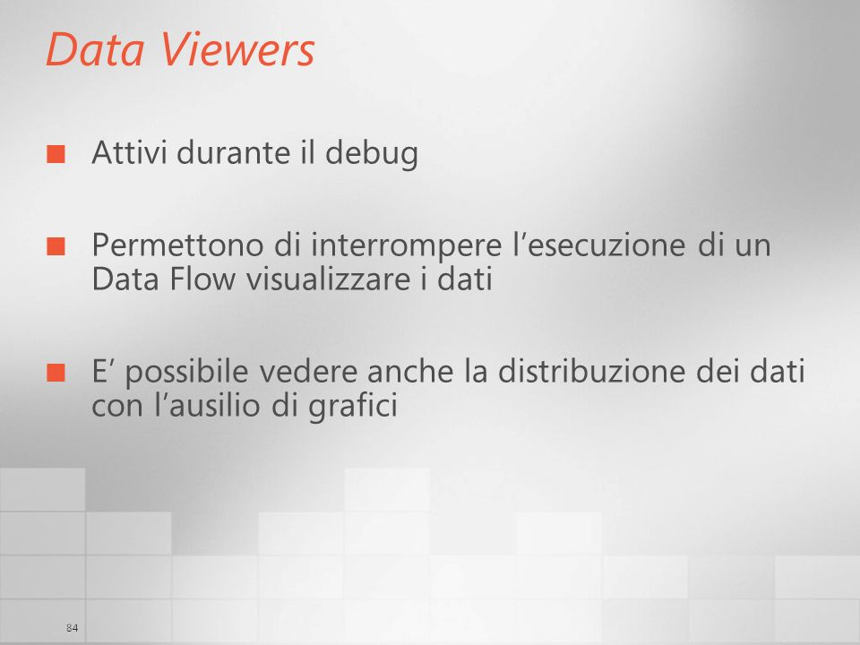 Data Viewers Attivi durante il debug