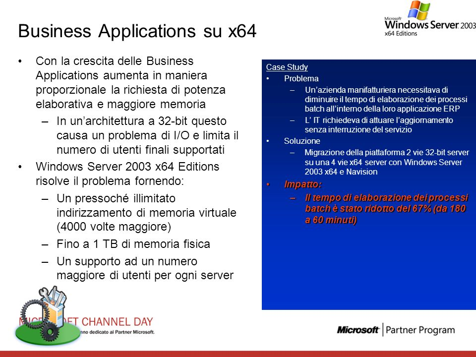 Business Applications su x64