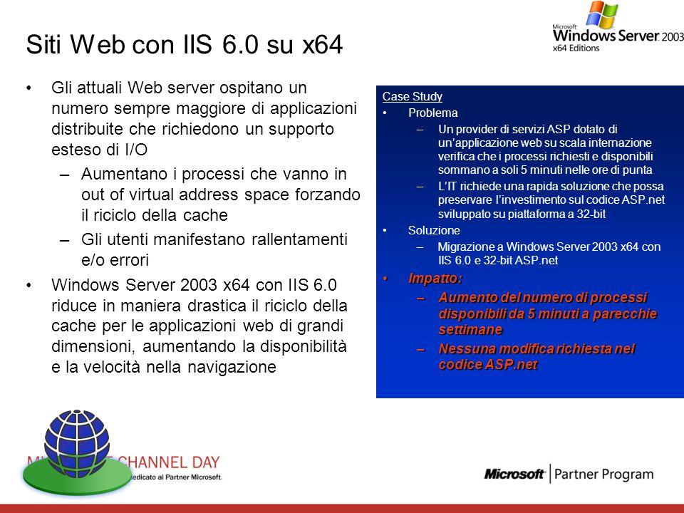 Siti Web con IIS 6.0 su x64