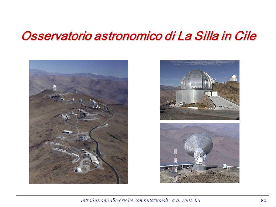 Osservatorio astronomico di La Silla in Cile