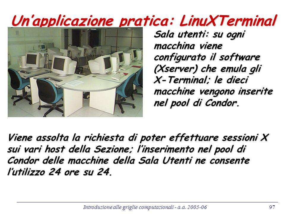 Un'applicazione pratica: LinuXTerminal