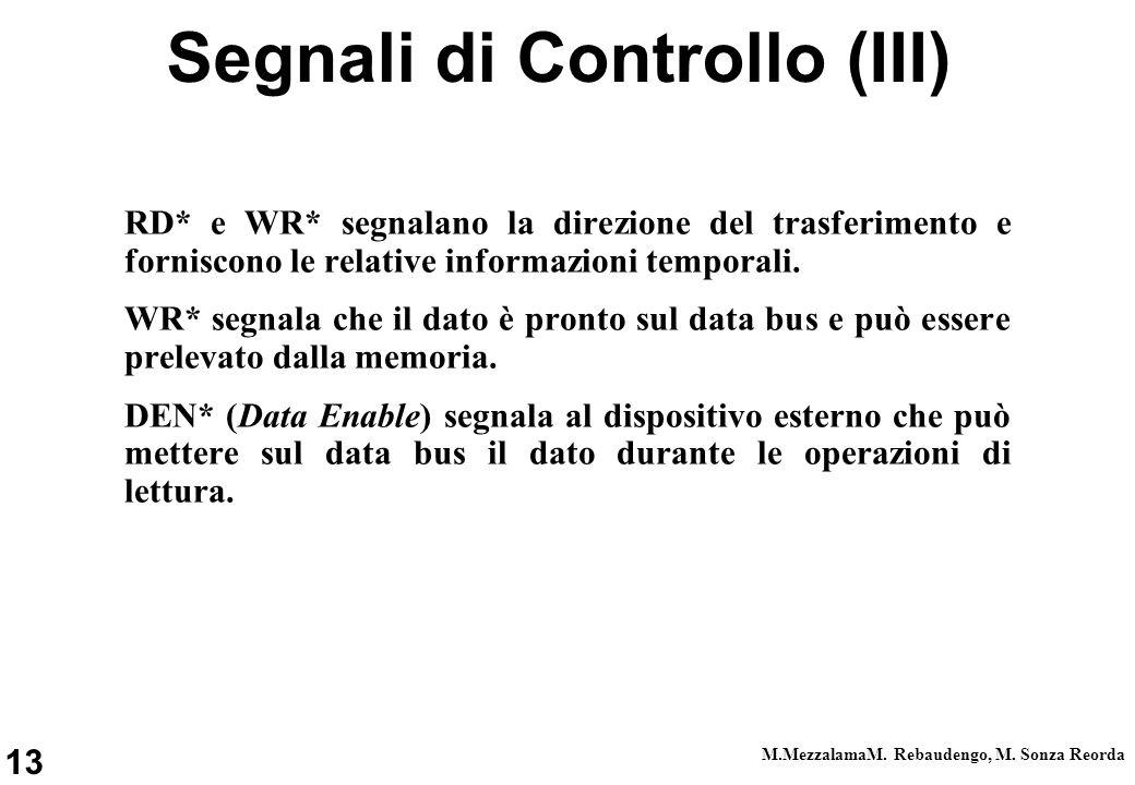 Segnali di Controllo (III)