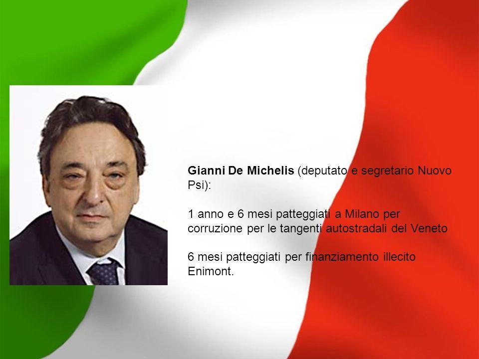 Gianni De Michelis (deputato e segretario Nuovo Psi):