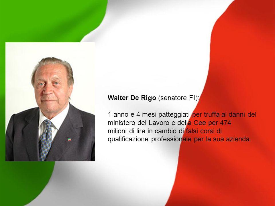 Walter De Rigo (senatore FI):