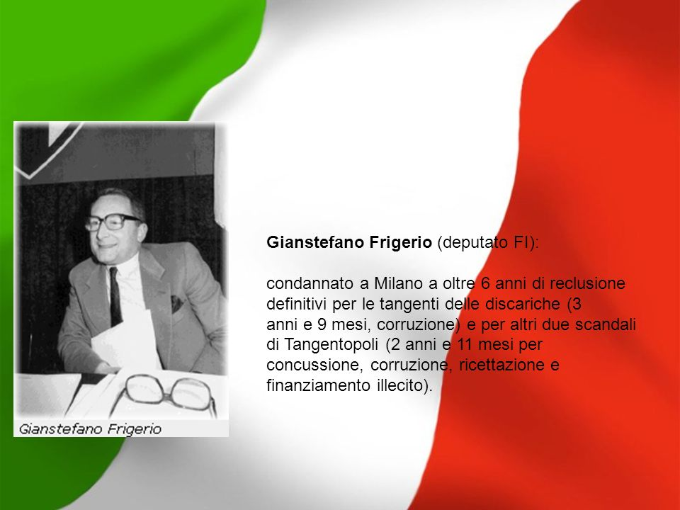 Gianstefano Frigerio (deputato FI):
