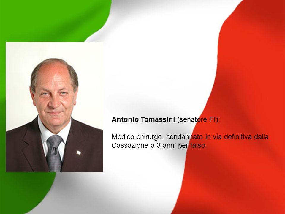 Antonio Tomassini (senatore FI):