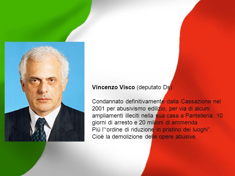 Vincenzo Visco (deputato Ds):