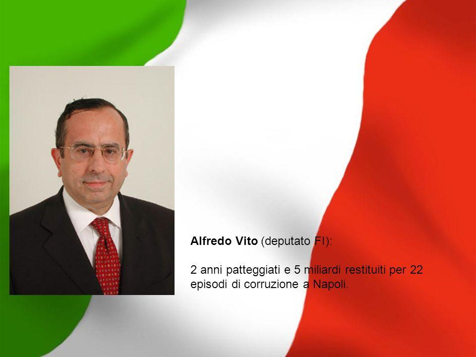 Alfredo Vito (deputato FI):