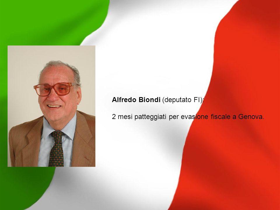 Alfredo Biondi (deputato FI):