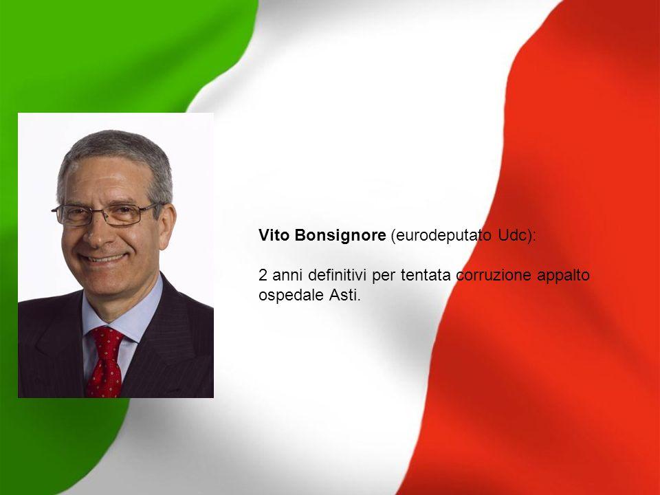 Vito Bonsignore (eurodeputato Udc):