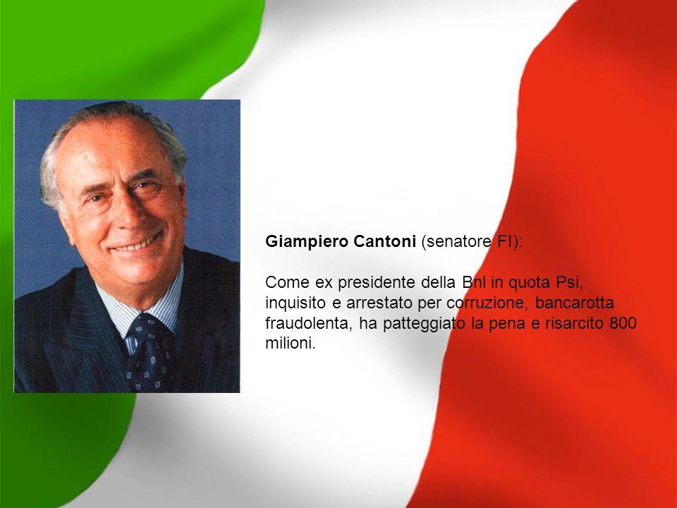 Giampiero Cantoni (senatore FI):