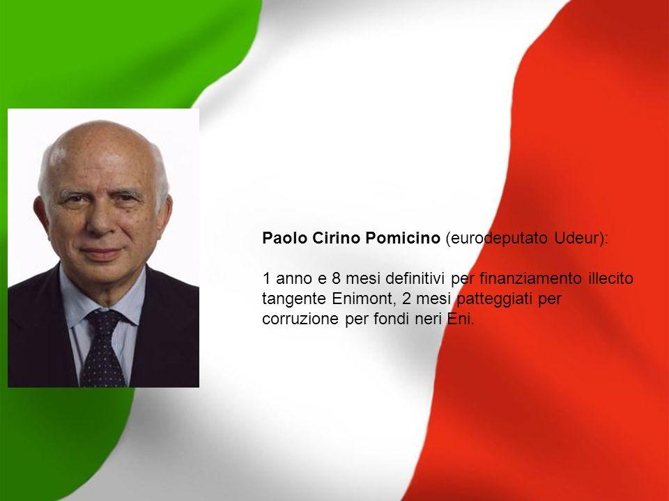 Paolo Cirino Pomicino (eurodeputato Udeur):