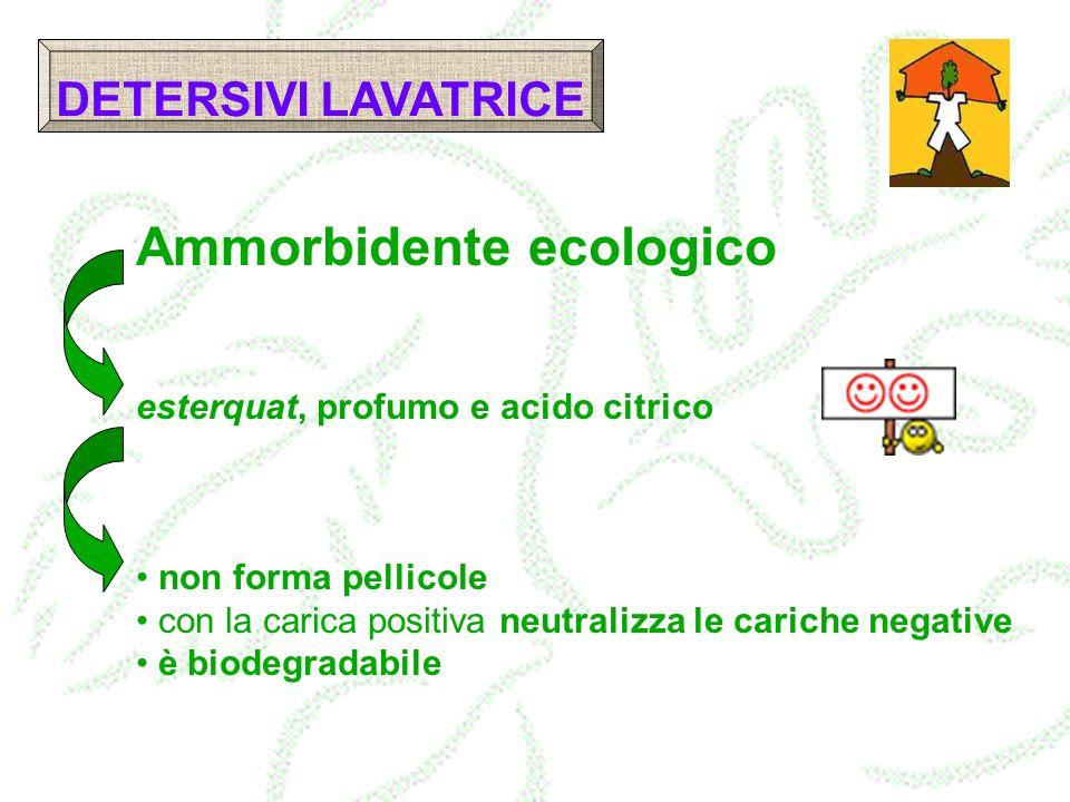Ammorbidente ecologico