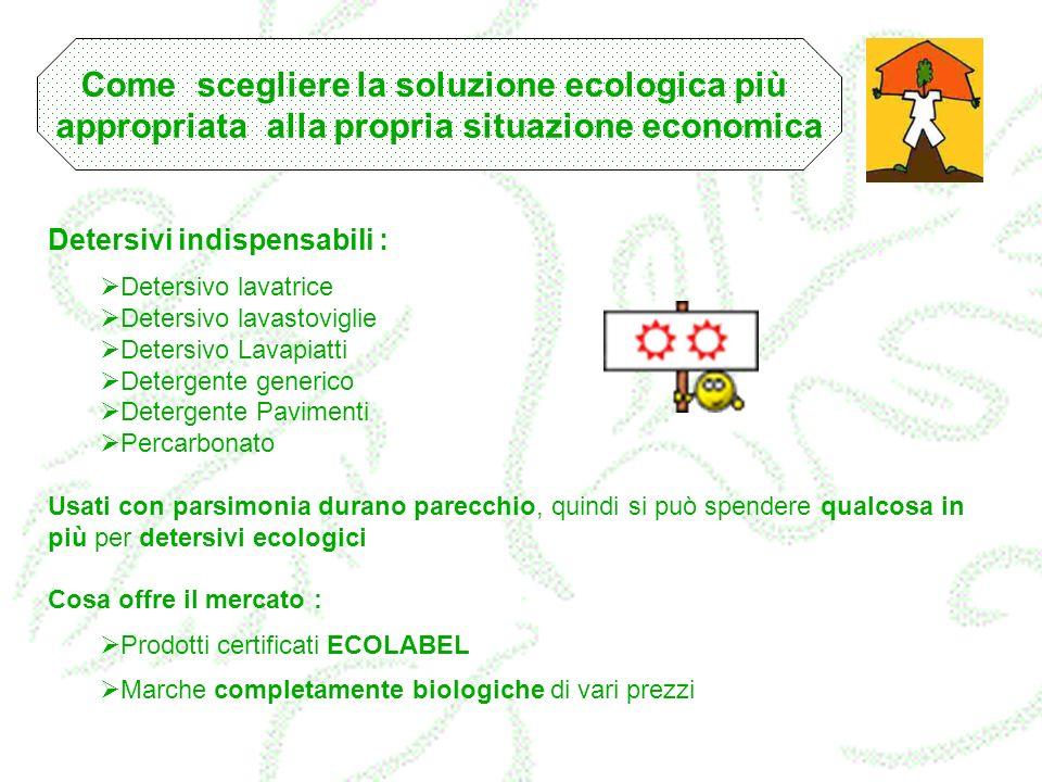 Come scegliere la soluzione ecologica più