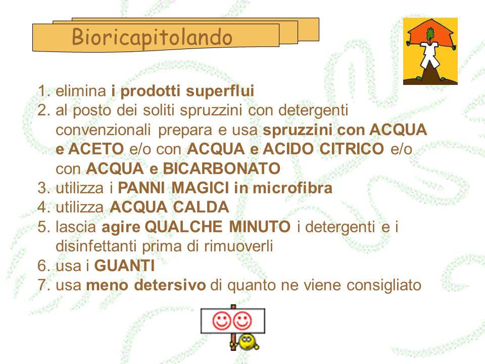 Bioricapitolando elimina i prodotti superflui