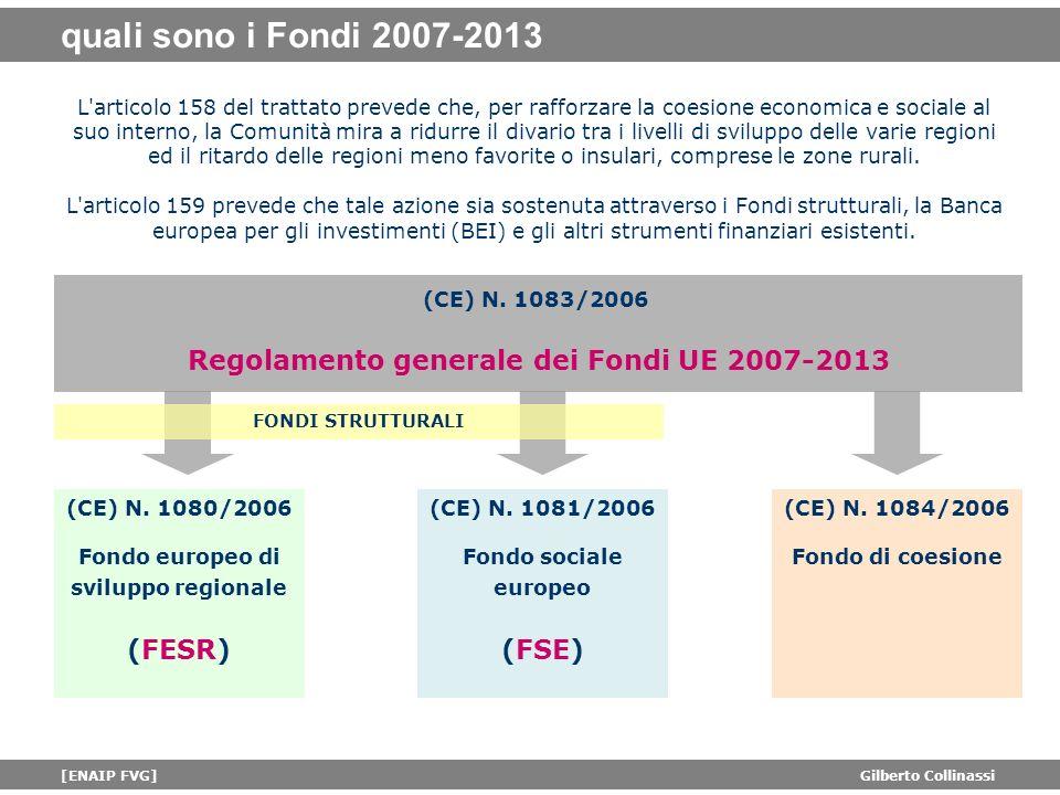 quali sono i Fondi 2007-2013