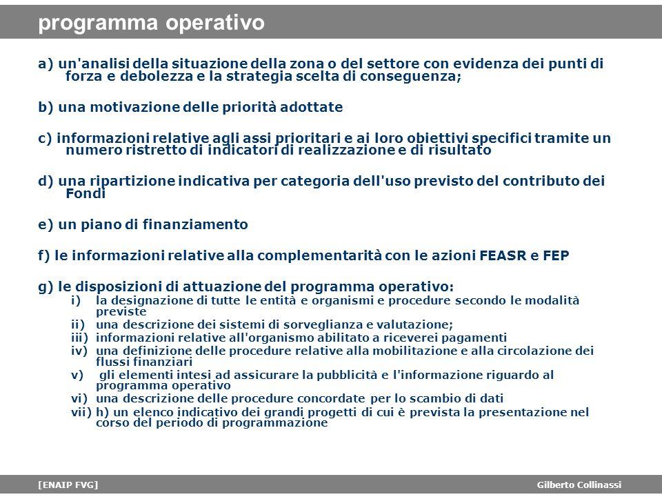 programma operativo