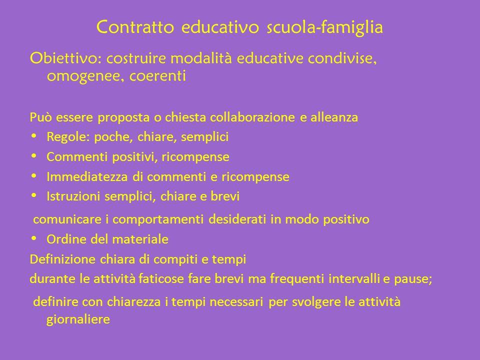 Contratto educativo scuola-famiglia