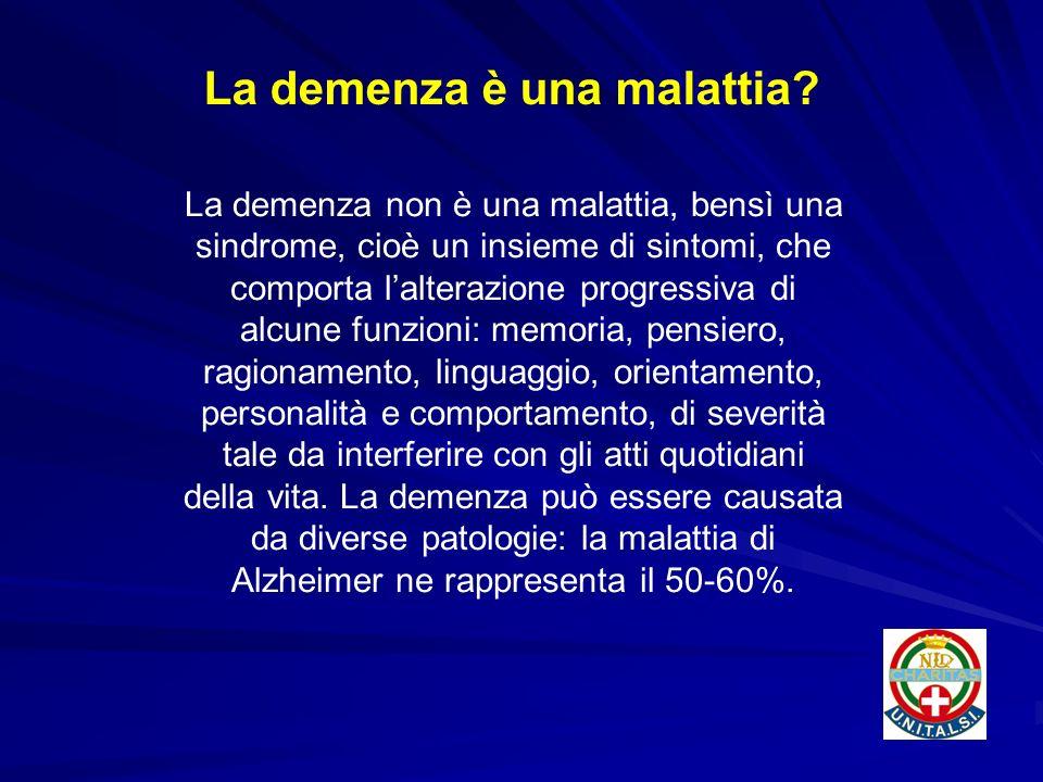 La demenza è una malattia