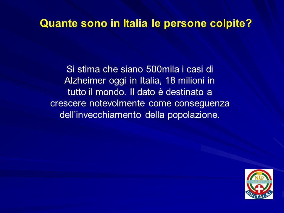 Quante sono in Italia le persone colpite