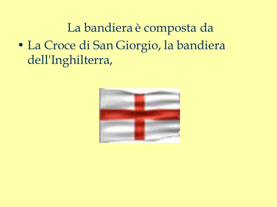 La bandiera è composta da