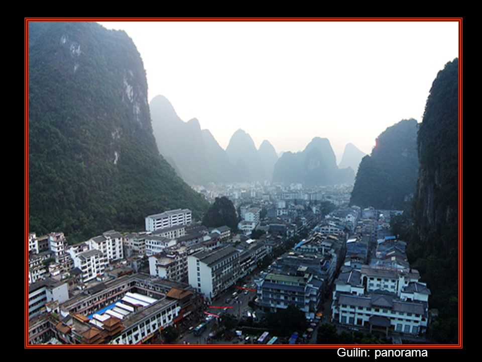 Guilin: panorama