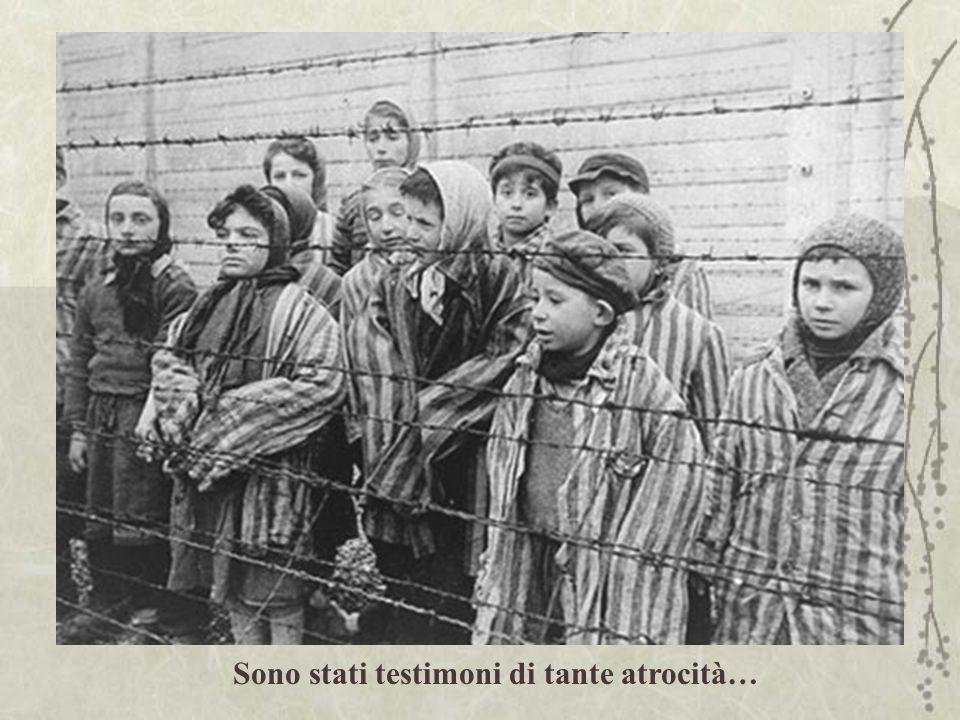 Sono stati testimoni di tante atrocità…
