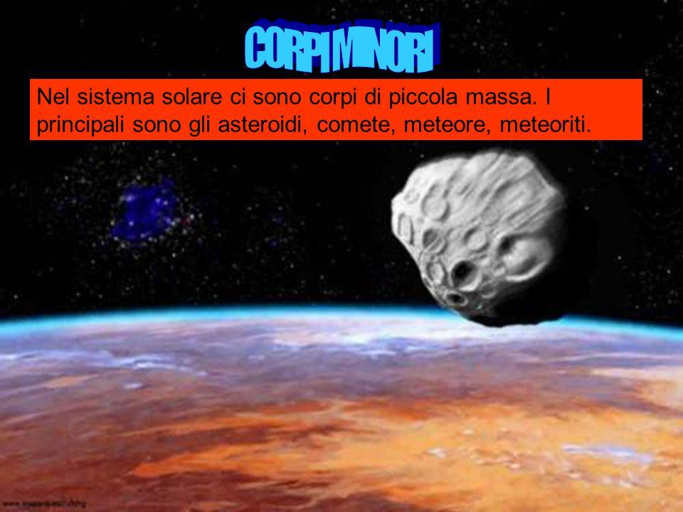 CORPI MINORI Nel sistema solare ci sono corpi di piccola massa.
