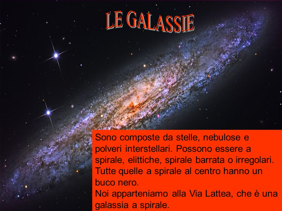 LE GALASSIE