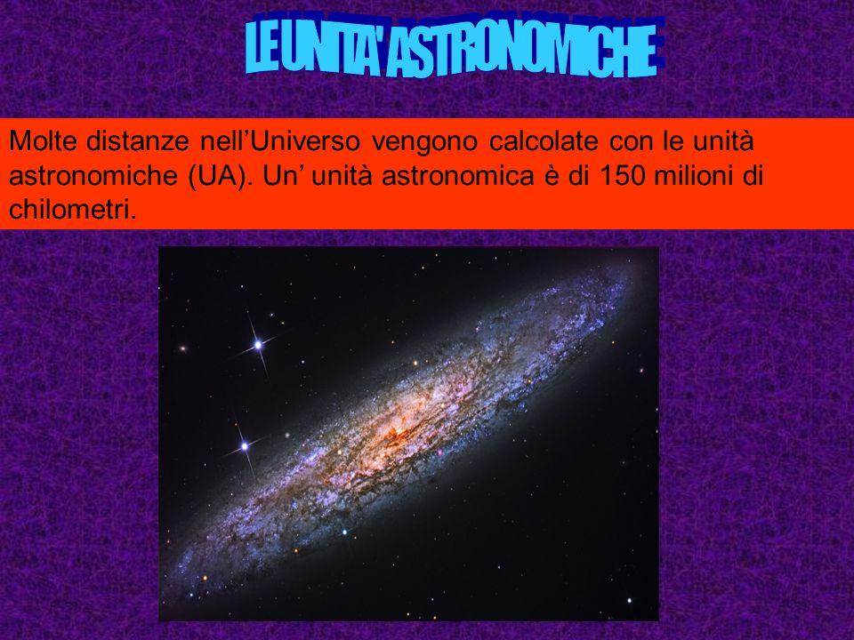 LE UNITA ASTRONOMICHE
