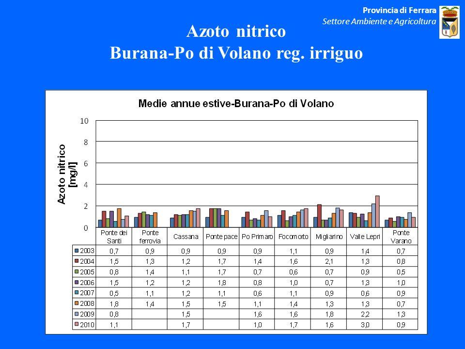 Burana-Po di Volano reg. irriguo