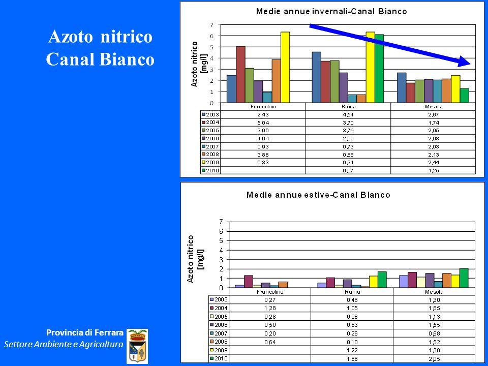 Azoto nitrico Canal Bianco