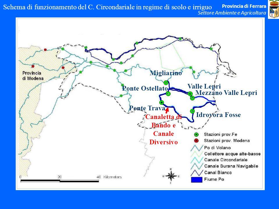 Canaletta di Bando e Canale Diversivo