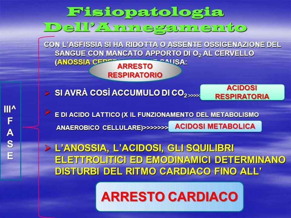 Fisiopatologia Dell'Annegamento