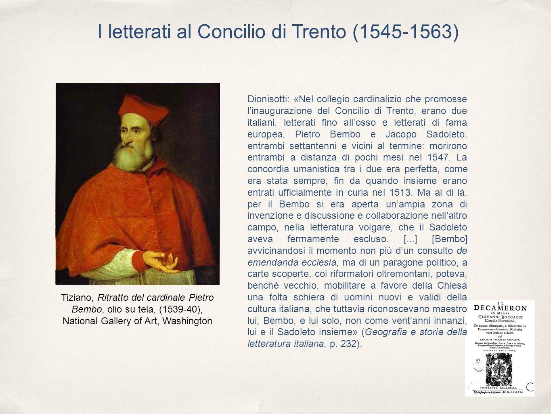 I letterati al Concilio di Trento (1545-1563)